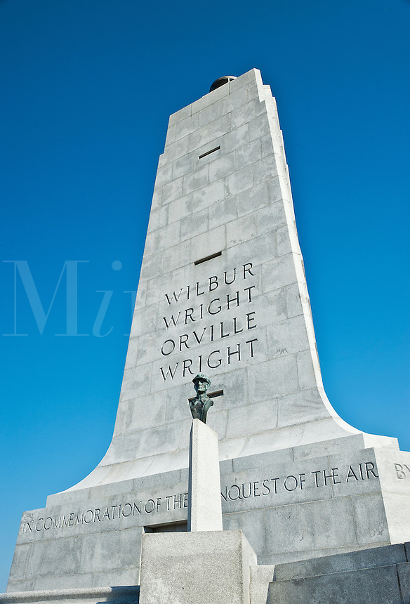 Wright Brothers National Memorial, Manteo, North Carolina, USA
