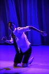 WAVE 02..Chorégraphie : Hervé ROBBE..Interprétation : Alexia BIGOT, Cédric LEQUILEUC..Musique : Andrea CERA BOSCHERON..Lumières : François MAILLOT..Production : Centre chorégraphique national..du Havre Haute-Normandie, Travelling & Co..Durée : 30 min...Lieu : Centre National de la Danse..Ville : Pantin..Date : 07/02/2012..© Laurent Paillier / photosdedanse.com