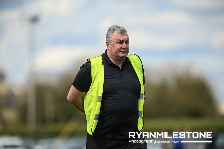 Upperchurch/Drombane Manager John Ryan during the Centenary Agri Mid Senior Hurling Championship Quarter Final between Thurles Sarsfields and Upperchurch/Drombane on Saturday 28th April 2018 at Templetuohy, Co Tipperary, Photo By Michael P Ryan