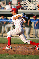 June 21st, 2007:  Mateo Marquez of the Batavia Muckdogs, Short-Season Class-A affiliate of the St. Louis Cardinals at Dwyer Stadium in Batavia, NY.  Photo by:  Mike Janes/Four Seam Images