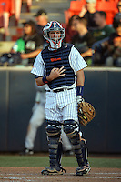 March 27, 2010: Billy Marcoe of Cal. St. Fullerton during game against Hawaii at Goodwin Field in Fullerton,CA.  Photo by Larry Goren/Four Seam Images