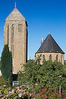 Europe/France/Normandie/Basse-Normndie/50/Manche/Mortain: Collégiale Saint-Évroult de Mortain //  <br />  France, Manche, Mortain, The parish church of St Evroult
