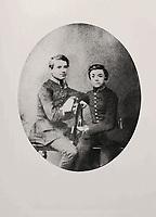 Русский композитор Петр Ильич Чайковский (слева) и Владимир Герард. 29 мая 1859 года / Russian composer Pyotr Ilyich Tchaikovsky (left) and Vladimir Gerard. May 29, 1859