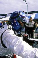 Elliott Forbes-Robinson, #20 Dyson Riley..2002 Rolex 24 at Daytona, Daytona International Speedway, Daytona Beach, Florida USA Feb. 2002.(Sports Car Racing)