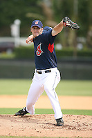 March 20th 2008:  Jensen Lewis of the Cleveland Indians during a Spring Training game at Chain of Lakes Park in Winter Haven, FL.  Photo by:  Mike Janes/Four Seam Images