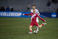 Santa Barbara, CA - Friday, December 7, 2018:  Maryland men's soccer defeated Indiana 2-0 in a semi-final match in the 2018 College Cup.  Andrew Gutman.