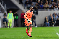 LOS ANGELES, CA - MARCH 08: Kenneth Vermeer #1 of LAFC against Philadelphia Union during a game between Philadelphia Union and Los Angeles FC at Banc of California Stadium on March 08, 2020 in Los Angeles, California.