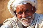 The headman of the village of  Rusirani, near Jaipur
