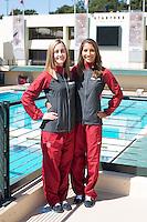STANFORD, CA - Seniors of the Stanford University Women's Synchronized Swimming Team