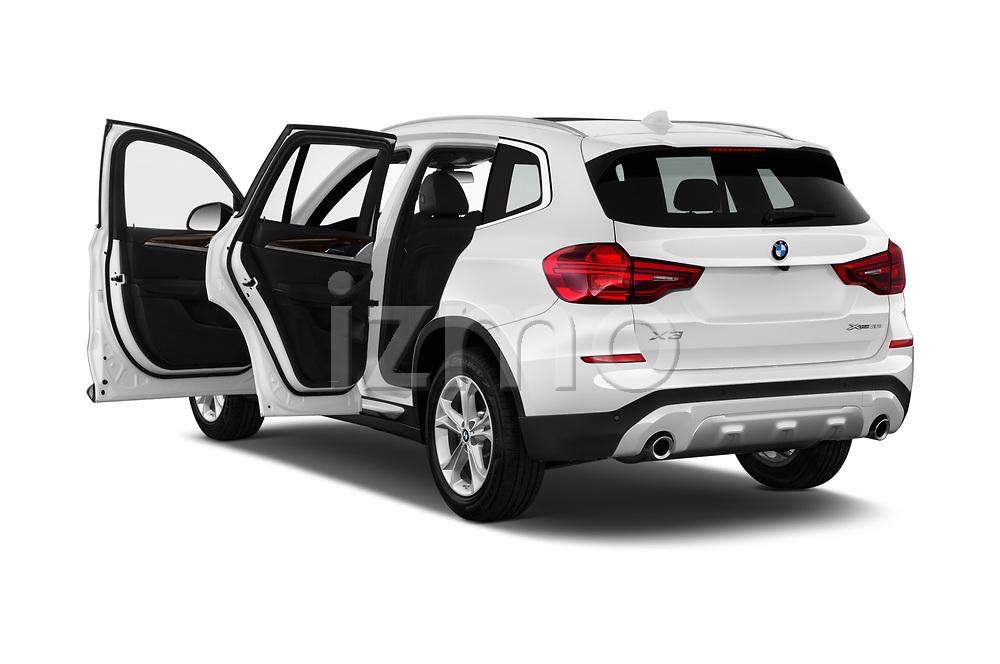 Car images close up view of a 2018 BMW x3 x Line 5 Door SUV doors