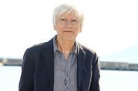 Philippe Duclos pose lors du photocall d ENGRENAGES pendant le MIPTV a Cannes, le lundi 3 avril 2017.