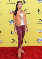 SANTA MONICA, CA, USA - NOVEMBER 16: Eva LaRue arrives at the P.S. ARTS Express Yourself 2014 held at The Barker Hanger on November 16, 2014 in Santa Monica, California, United States. (Photo by Celebrity Monitor)