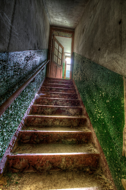 A children's sanatorium in East Germany.