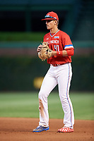 Kody Milton (41) of Severna Park High School in Arnold, Maryland during the Under Armour All-American Game presented by Baseball Factory on July 29, 2017 at Wrigley Field in Chicago, Illinois.  (Mike Janes/Four Seam Images)