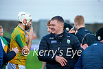 after the Joe McDonagh hurling cup fourth round match between Kerry and Carlow at Austin Stack Park on Saturday.