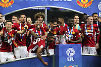 Manchester United celebrate winning the EFL Cup Final match between Manchester United and Southampton<br /> Londra Wembley Stadium Southampton vs Manchester United - EFL League Cup Finale - 26/02/2017 <br /> Foto Phcimages/Panoramic/Insidefoto