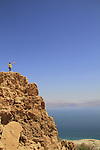 Israel, a view of the Dead Sea from Ein Gedi