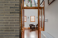 BNPS.co.uk (01202) 558833. <br /> Pic: UniquePropertyCompany/BNPS<br /> <br /> Haus proud...<br /> <br /> A house designed in German Bavarian style in the south London commuter belt is on the market for £1.1m.<br /> <br /> Holly Lodge, a former pheasant shooting lodge and coaching inn, belonged to an engineer who fell in love with German architecture when he worked in the country.<br /> <br /> He bought and completely redesigned the building in the 1980s.<br /> <br /> The property, which is in the borough of Bromley, has four bedrooms, two bathrooms and two reception rooms.