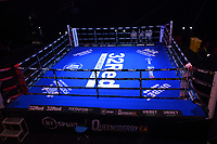 General view of the ring during a Boxing Show at York Hall on 24th April 2021