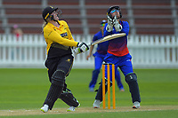 Wellington's Rebecca Burns bats during the women's Hallyburton Johnstone Shield cricket match between the Wellington Blaze and Auckland Hearts at Basin Reserve in Wellington, New Zealand on Sunday, 17 November 2019. Photo: Dave Lintott / lintottphoto.co.nz