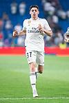 Real Madrid Federico Valverde during Santiago Bernabeu Trophy match at Santiago Bernabeu Stadium in Madrid, Spain. August 11, 2018. (ALTERPHOTOS/Borja B.Hojas)