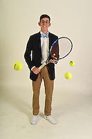 NWA Democrat-Gazette/MICHAEL WOODS • @NWAMICHAELW<br /> Boys Singles Player of the Year, Jack Vaughan of Rogers High, Thursday, November 19, 2016.