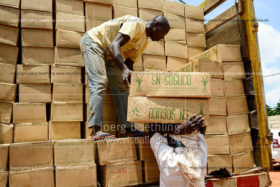 BURKINA FASO, Ouagadougou, company Velegda Sarl, trade, transport and storage of sugar/ BURKINA FASO, Ouagadougou, Nahrungsmittel Handel Velegda Sarl, Transport und Lagerung Zucker