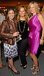 Yamila Mendoza, Ana Aiza and Sally Lechin at the spring Simon Fashion Now event at The Galleria Thursday March 12, 2009. (Dave Rossman/For the Chronicle)