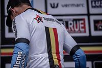 Sean De Bie (BEL/Veranda's Willems Crelan) stays leader in the Napoleon Games Cycling Cup. <br /> <br /> 78th Euro Metropole Tour 2018<br /> La Louvière – Tournai (BEL): 206km