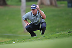 Feb 22, 2009: Steve Stricker finishes second after a strong final round at the Northern Trust Open 2009 in the Pacific Palisades, California.