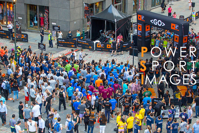 The Extra Mile 2018 -  Start of the New York race on 3 May 2018, in New York, USA. Photo by Fernando Alonso/ Power Sport Images