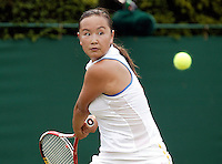 29-6-06,England, London, Wimbledon, second round match,  Miss M. Peng