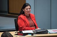 Plenarsitzung des Berliner Abgeordnetenhaus am Donnerstag den 14. Januar 2021.<br /> Im Bild: Schulsenatorin Sandra Scheeres (SPD).<br /> 14.1.2021, Berlin<br /> Copyright: Christian-Ditsch.de