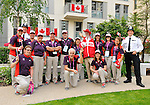 LONDON, ENGLAND – 08/26/2012:  Canada's Pep-Rally before the London 2012 Paralympic Games. (Photo by Matthew Murnaghan/Canadian Paralympic Committee)
