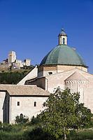 Italien, Umbrien, Dom in Assisi