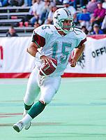 Jimmy Kemp San Antonio Texans 1995. Photo John Bradley