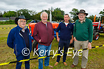 At the Abbeydorney Vintage Tracror run on Sunday, l to r: Sean Collins, Eoin and Mike Keane and Dennis Hergarty from Asdee.