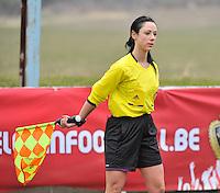 France U19 - Russia U19 : Tina Tyteca (BEL).foto DAVID CATRY / Nikonpro.be