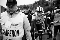 British champion Ian Stannard's (GBR/SKY) post race face<br /> <br /> Milan - San Remo 2013: the iced edition.<br /> <br /> ©kramon