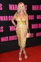 """Naomie Isted<br /> arrives for the """"War Dogs"""" premiere at the Picturehouse Central, London.<br /> <br /> <br /> ©Ash Knotek  D3144  11/08/2016"""