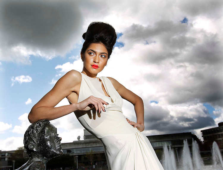 Model Rafaella will showcase a fashion forward hair creation by Michael Corcoran (2011 L'Oreal Professionnel Colour Trophy Winner) from Peter Mark College with a dress by designer Kinder Aggugini to officially launch the L'Oreal Professionnel Colour Trophy and The Eliminator event.