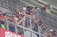 BELO HORIZONTE, MG, 23.04.2019: ATLETICO-MG X NACIONAL-URU- Torcida do Botafogo comparece ao Independencia durante partida entre Atletico-MG x Nacional-URU,  válida pela 5a rodada do grupo E da Copa Libertadores 2019,  no Estadio Mineirão em Belo Horizonte, MG, na noite desta terça feira (23) (foto Giazi Cavalcante/Codigo19)