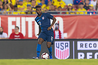 Tampa, FL - Thursday, October 11, 2018: Kellyn Acosta during a USMNT match against Colombia.  Colombia defeated the USMNT 4-2.