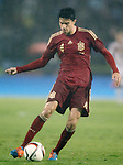Spain's Marc Bartra during international friendly match.November 18,2014. (ALTERPHOTOS/Acero)