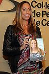 """Gemma Mengual Presents Her New Book """"El agua o la vida"""" in Barcelona."""