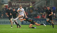 Friday 1st November 2019 | Ulster Rugby vs Zebre Rugby<br /> <br /> Rob Lyttle during the PRO14 Round 5 clash between Ulster Rugby and Zebre Rugby at Kingspan Stadium, Ravenhill Park, Belfast, Northern Ireland. Photo by John Dickson / DICKSONDIGITAL