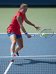 August 16, 2017:   Daria Kasatkina (RUS) loses to Madison Keys (USA) 6-2, 6-1, at the Western & Southern Open being played at Lindner Family Tennis Center in Mason, Ohio.  ©Leslie Billman/Tennisclix/CSM