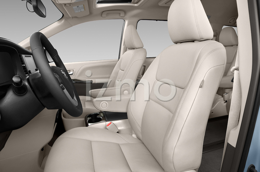 Front seat view of2015 Toyota Sienna XLE V6 8-Passenger 5 Door Mini Van Front Seat car photos