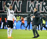 19.02.2018, Commerzbank - Arena, Frankfurt, GER, 1.FBL, Eintracht Frankfurt vs RB Leipzig , <br />Kevin-Prince Boateng (Frankfurt), Trainer Niko Kovac (Frankfurt) *** Local Caption *** © pixathlon