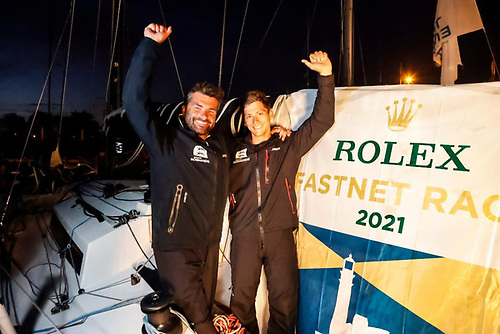 Victory in IRC Two-Handed & IRC Three for Alexis Loison's JPK 1030 Léon, racing with Guillaume Pirouelle